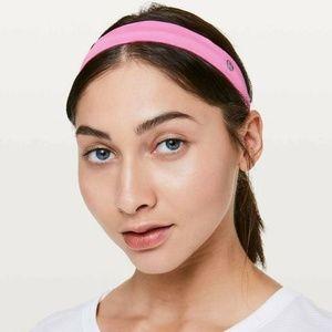 NWT Lululemon Cardio Cross Trainer Headband Pink